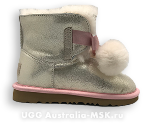 UGG Kids Gita Gold
