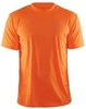 Мужская футболка для бега Craft Prime Run 199205-1576 оранжевая