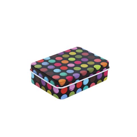 Металлическая коробочка Polka dot