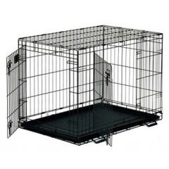Midwest клетка Life Stage 122х76х84 см черная 2 двери Шестерка