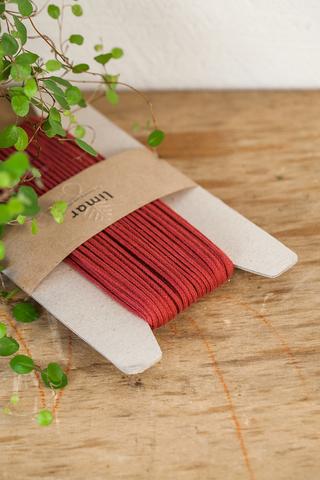 Хлопковый плетеный шнур 3 мм