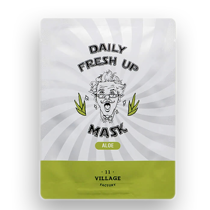VILLAGE 11 FACTORY Daily Fresh up Mask Aloe, 20 gr