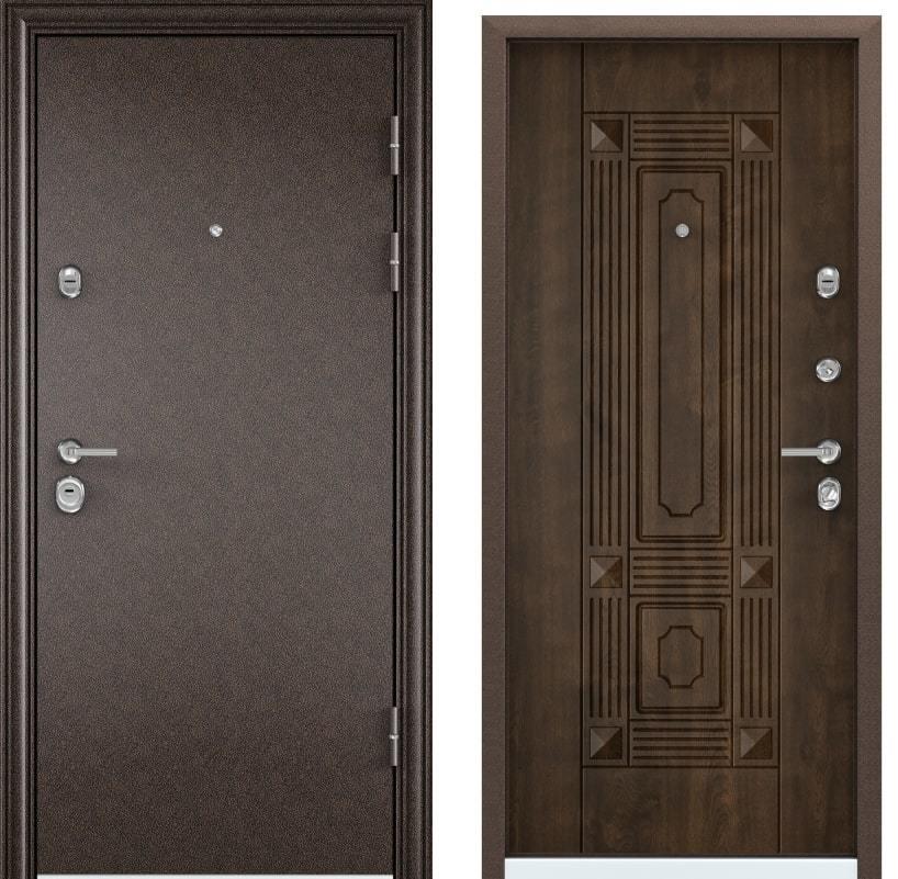 Входные двери Torex Ultimatum медь KB-9 орех грецкий generated_image-7.jpg