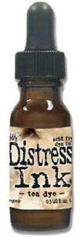 Чернила для заправки  Distress Ink Ranger -tea dye