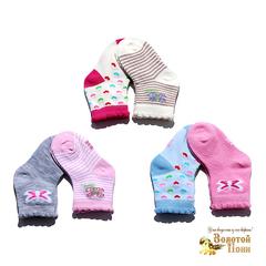 Носочки малышам хлопок (0-12) 180516-Р3791-3