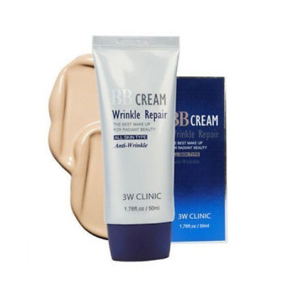 3W Clinic BB крем для лица BB Cream Wrinkle Repair, 50 мл