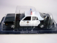 Dodge Coronet 1973 Los Angeles Police USA 1:43 DeAgostini World's Police Car #53