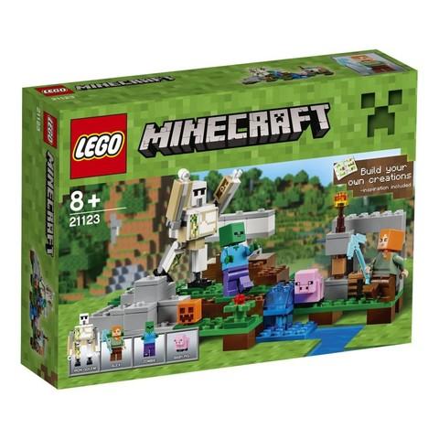 LEGO Minecraft: Железный голем 21123 — The Iron Golem — Лего Майнкрафт