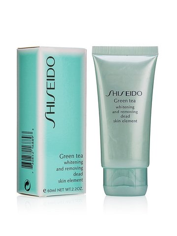 Shiseido Green Tea пилинг для лица