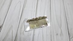 Гребень для волос с декором 7,5 см * 4,2 см, 1 шт.