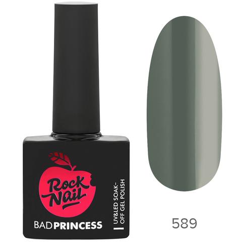 Гель-лак RockNail Bad Princess 589 Long Hair Don't Care