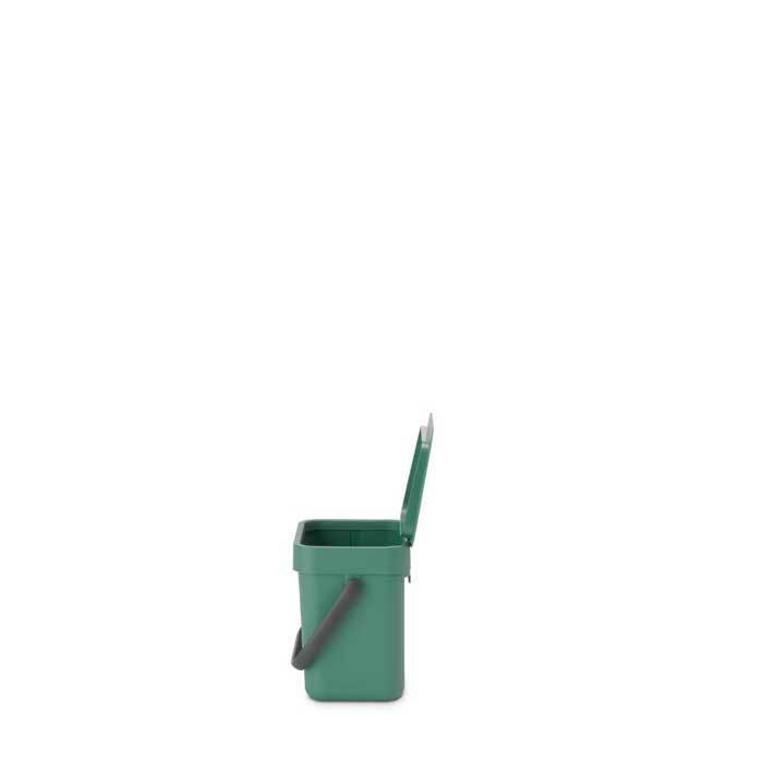 Встраиваемое мусорное ведро Sort & Go (3 л), Темно-зеленый, арт. 129865 - фото 1