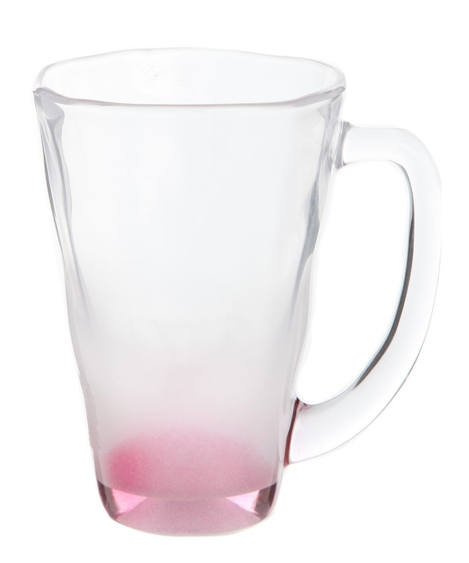 Кружка 390 мл Toyo Sasaki Glass Machine розовая
