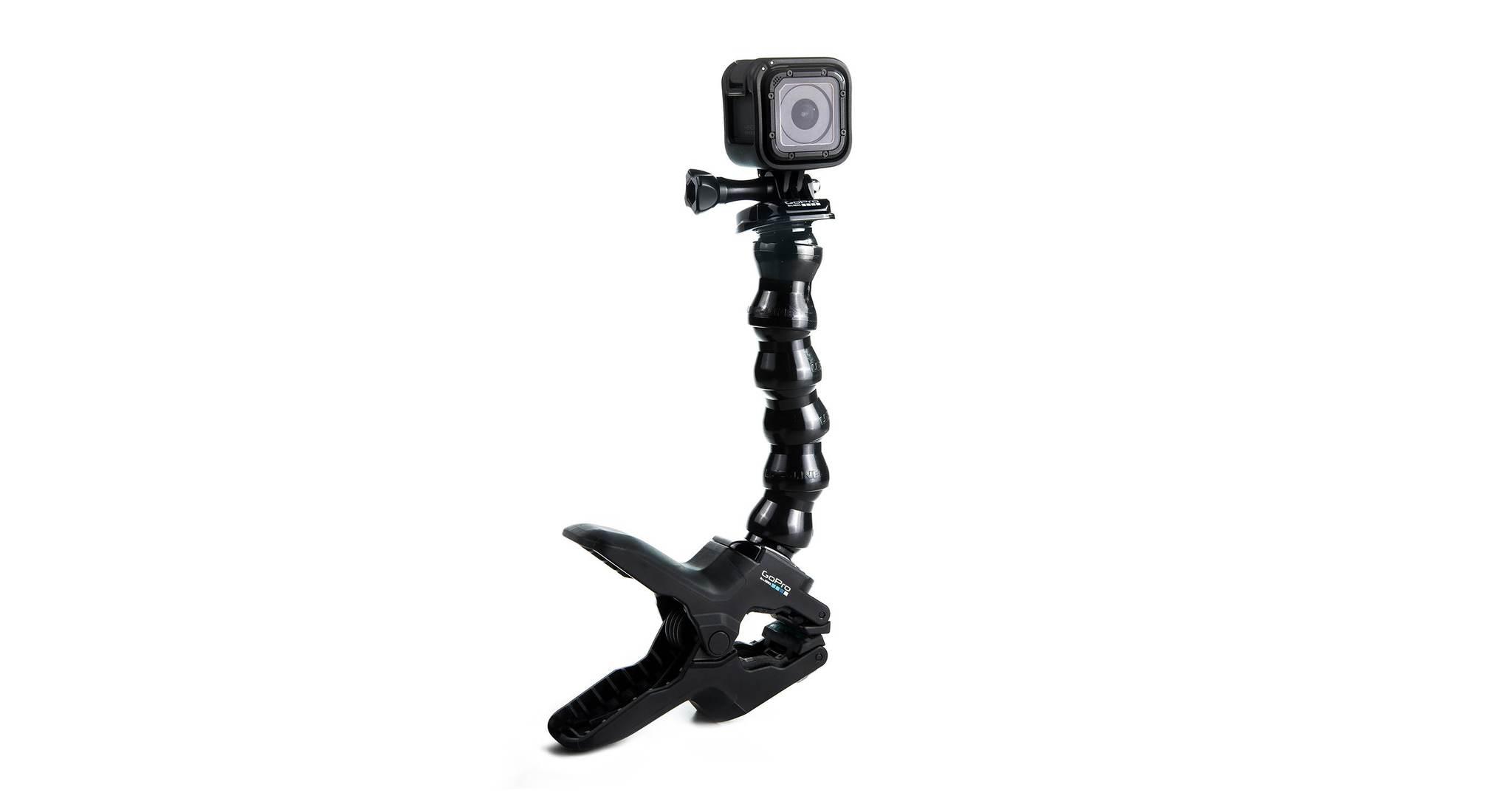 Крепление-прищепка GoPro ACMPM-001 Jaws: Flex Clamp