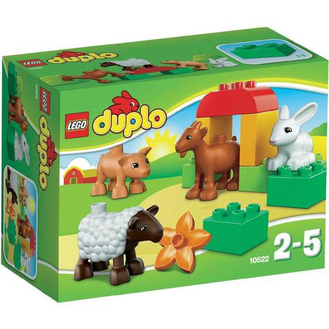LEGO Duplo: Животные на ферме 10522 — Farm Animals Goat Pig Sheep Rabbit — Лего Дупло