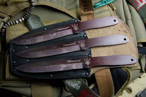 Метательный нож Freeknife 30ХГСА набор из 3 ножей