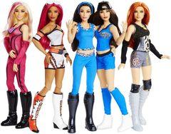 Набор из 5 кукол - WWE Superstars, Mattel