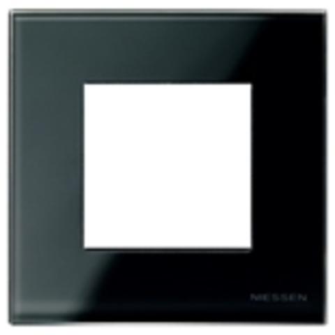 Рамка на 1 пост. Цвет Стекло чёрное. ABB(АББ). Niessen Zenit(Ниссен Зенит). N2271 CN