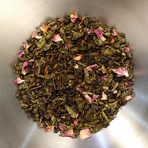 Чай зеленый Королева Бала