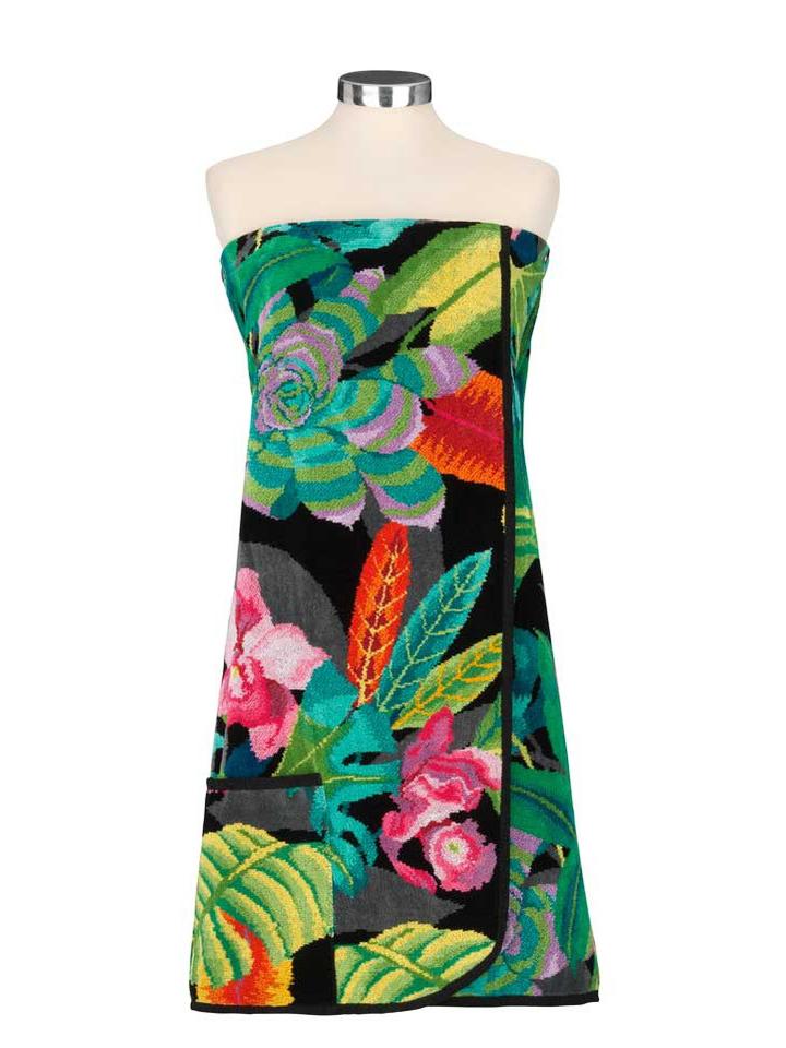 Элитный килт-саронг для сауны женский шенилловый Rainforest от Feiler