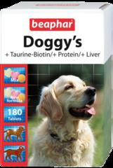 Beaphar doggi's mix витаминная добавка для щенков от 6 недель и взрослых собак 180таб.
