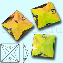 Купить пришивные стеклянные стразы Square, Vitrail Medium VM виэм квадратные