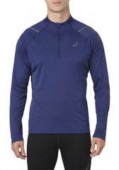 Рубашка беговая Asics Icon LS 1/2 Zip Blue мужская