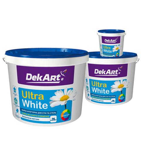 Водоэмульсионная  краска Ultra White