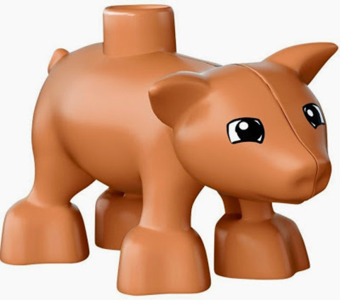 LEGO Duplo: Животные на ферме 10522 — Farm Animals Goat Pig Sheep Rabbit — Лего Дупло