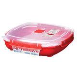 Контейнер низкий Microwave 1,3 л, артикул 1106, производитель - Sistema
