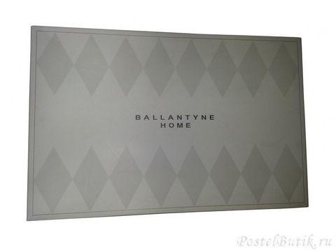 Плед 130х170 Glen от Ballantyne серый