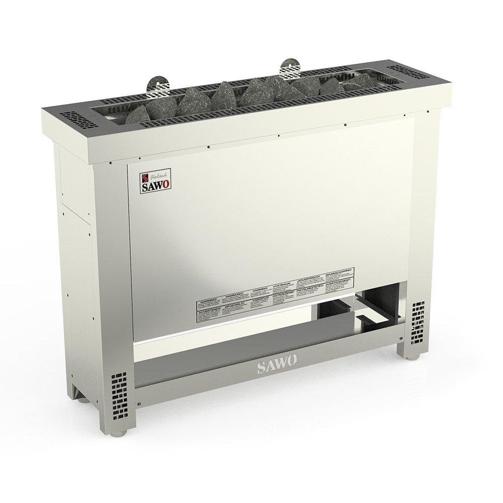 Серия Helius: Электрическая печь SAWO HELIUS HES-75NS-G-P-C (7,5 кВт, выносной пульт)