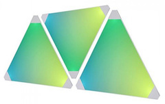 AURORA NANOLEAF Light Panels NL22-0001TW-3PK дополнительные светодиодные панели