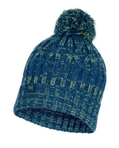 Шапка вязаная с флисом Buff Hat Knitted Polar Idun Denim