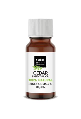 Эфирное масло кедр, 10 мл (Natura Botanica)