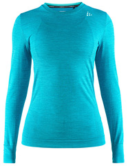 Термобелье Рубашка Craft Fuseknit Comfort Turquoise женская
