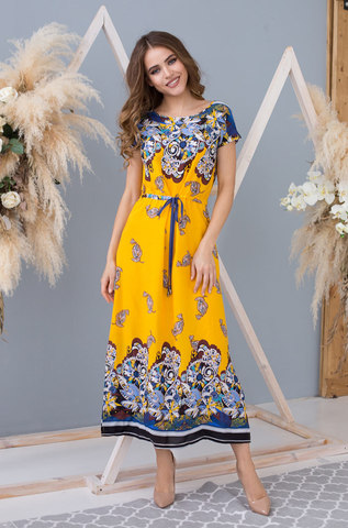 Длинное платье MIA-MIA  Sole Viva 16367