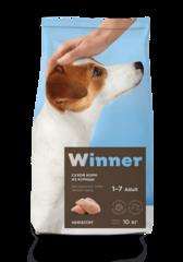Сухой корм Winner Мираторг для взрослых собак мелких пород