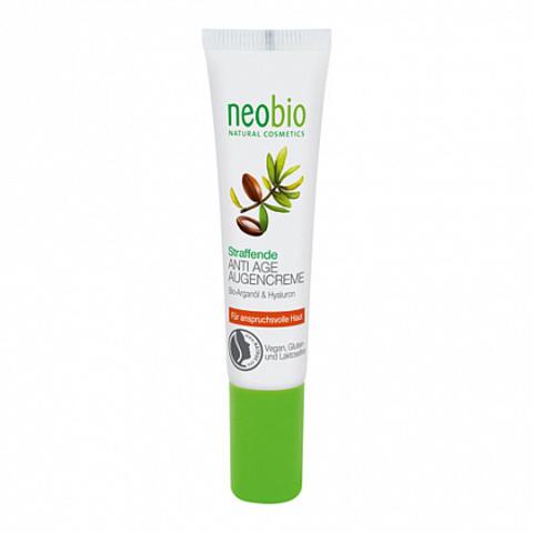 Neobio, Разглаживающий крем вокруг глаз, 15мл