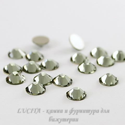 2058 Стразы Сваровски холодной фиксации Black Diamond ss30 (6,32-6,5 мм)