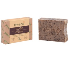 Натуральное мыло ручной работы Кофе 100g, ТМ Levrana