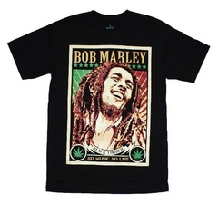 BTB Bob Marley No Music No Life — Футболка Боб Марли