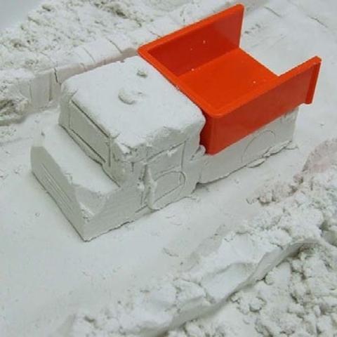 Ангельский песок Angel Sand - белый, 600 мл + 2 формочки Крепость