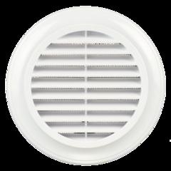Решетка круглая Blauberg Decor 100s пластиковая