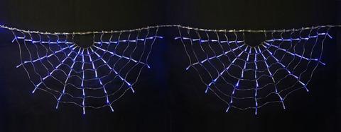 ULD-E3104-288/DTK BLUE IP20 RAINBOW-1 Занавес светодиодный фигурный