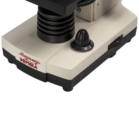 Микроскоп Эврика 40х-1280х с видеоокуляром в кейсе