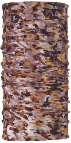 Бандана-повязка на голову летняя Buff Camu Fish Brown