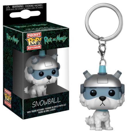 Брелок Funko Pocket POP! Keychain: Rick & Morty: Snowball