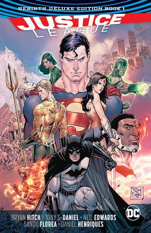 Justice League Rebirth Deluxe Edition Book 1