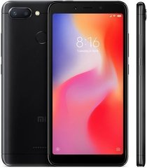 Смартфон Xiaomi Redmi 6 3GB/64GB  Black (Черный)